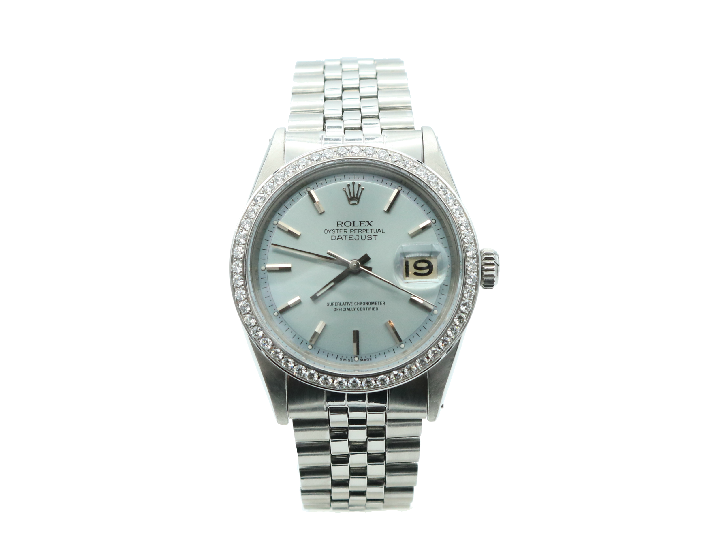 datejust white clock dial black ebay display at watches bezel rolex watch and o factory lady ladies wristwatch gold diamond collectors winder itm date hand second case