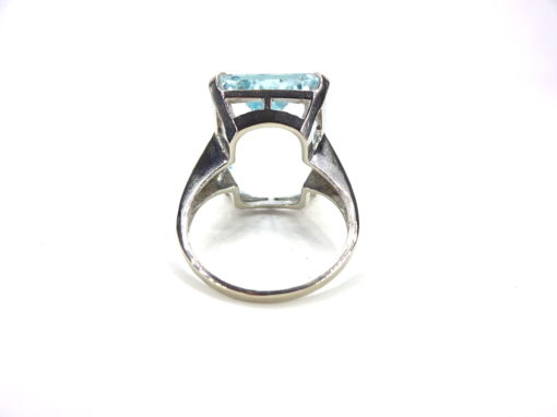 Michael Moses Vault, Newport Beach Jewelry Store, Aquamarine/White Gold Jewelry