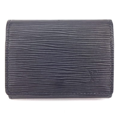 Michael Moses Vault, Newport Beach Jewelry Store, Black Epi Leather Mens Louis Vuitton Wallet