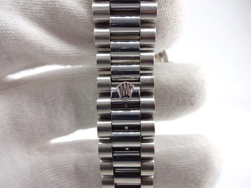 Michael Moses Vault, Newport Beach California Jewelry Store,18k White Gold Rolex President, 1979