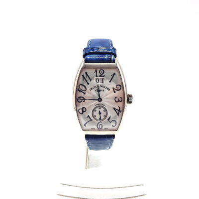 Michael Moses Vault, Newport Beach Jewelry Store, 18k White Gold Franck Muller limited edition #64/200