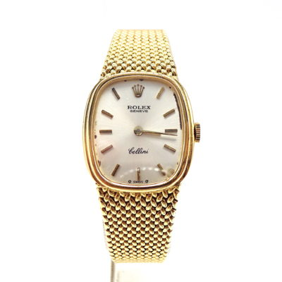 Michael Moses Vault, Newport Beach Jewelry Store, 18k Yellow Gold Rolex Cellini