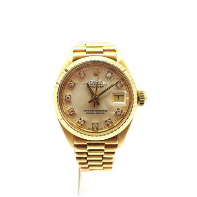 Michael Moses Vault, Newport Beach Jewelry Store, Ladies 18k Yellow Gold Rolex Date-Just