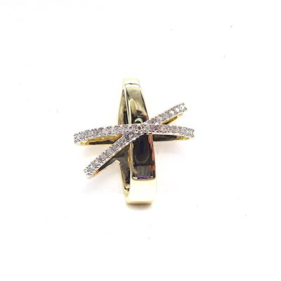 Michael Moses Vault, Newport Beach California Fine Jewelry Store, 14k Yellow Gold Diamond Pendant