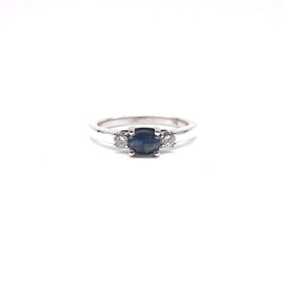 Michael Moses Vault, Newport Beach California Fine Jewelry Store, Cats Eye Alexandrite/Diamond Ring